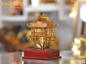 Quà tặng chùa Một Cột mạ vàng đẹp tinh xảo